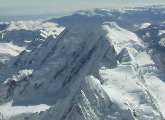 Flight over Mount Cook